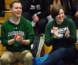 Photo of Babson College supporters. Link to Gifts of Real Estate.